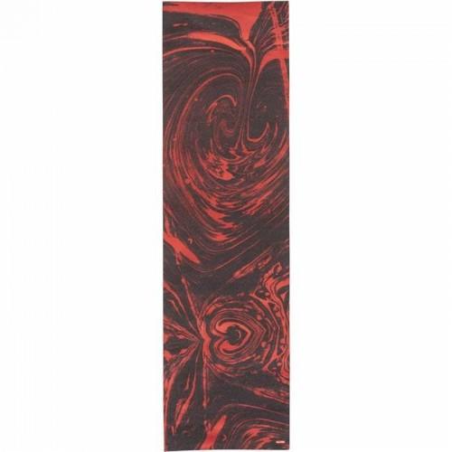 Globe Printed Griptape  Red Marble