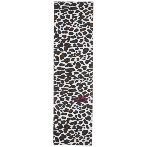 HOLIDAY GRIP PLAQUE CHEETAH CLEAR PRINTED COLOR 9 X 33