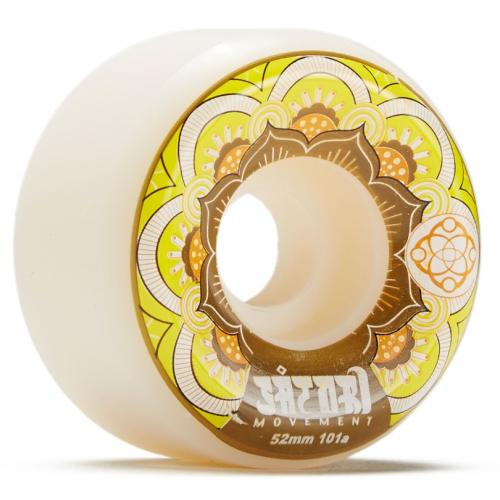 Satori - Mandala - Conical Shape – Yellow Wheels 52mm