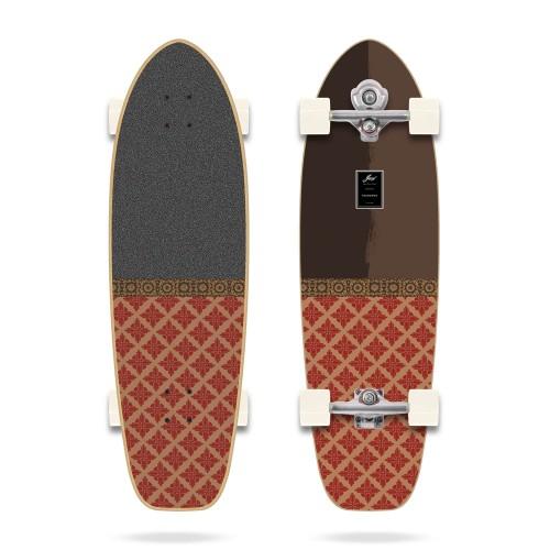 "YOW Teahupoo 34"" Power Surfing Series Yow Surfskate"