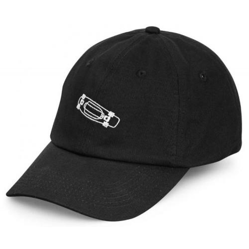 Penny Cap Calvin Dad Hat Black O/S