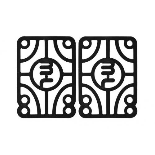 MINI LOGO PADS (JEU DE 2) 0.25 (6.35MM) HARD