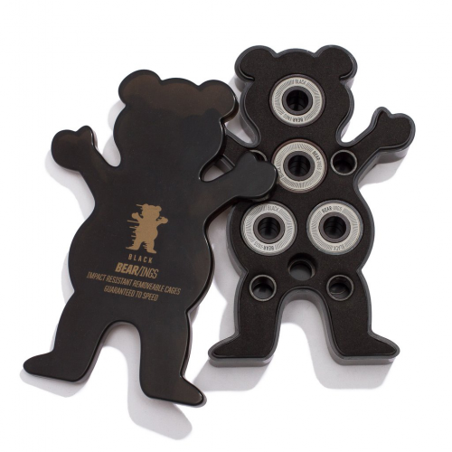 GRIZZLY ROULEMENTS ABEC 9 BLACK BEAR-INGS