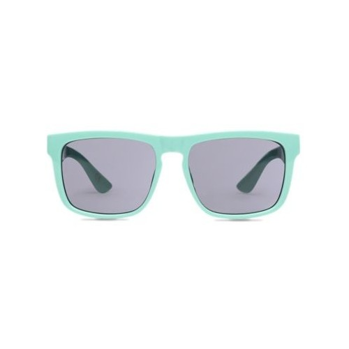 MN sunglasses squared off dusty jade green
