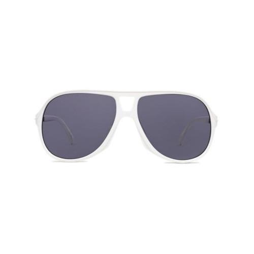 MN sunglasses seek shade White