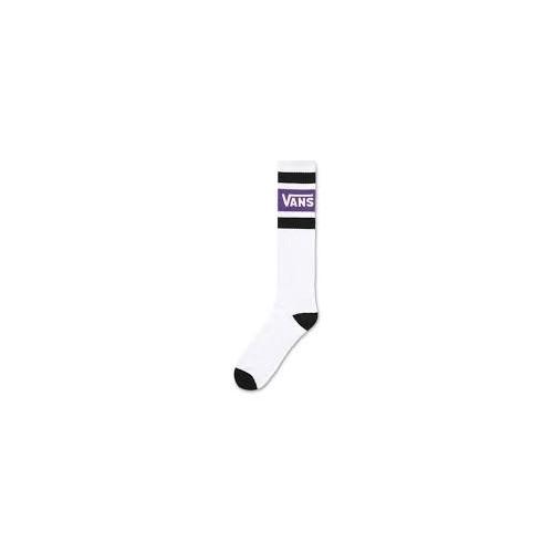 MN Vans Stripe PE Knee HELLI OTROPE / socks tricolor  white/black/purple 9,5-13