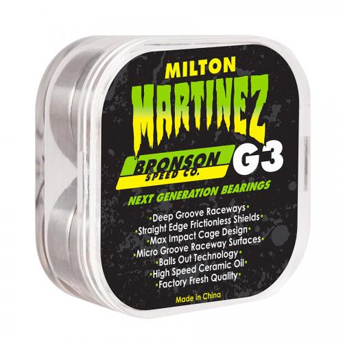 BRONSON SPEED CO ROULEMENTS (JEU DE 8) PRO MARTINEZ G3