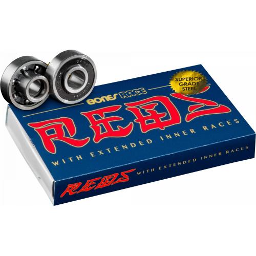 BONES ROULEMENTS (JEU DE 8) REDS RACE 608