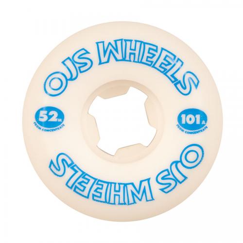 OJ WHEELS (JEU DE 4) 52MM FROM CONCENTRATE HARDLINE 101A II