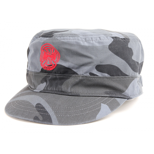 INDEPENDENT CASQUETTE ARMY CAMO BLACK GREY
