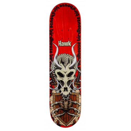 Birdhouse Pro Deck Hawk Gladiator Red 8.0