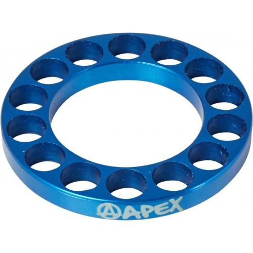 Apex Bar Riser 5mm Jeu de direction (Blue)