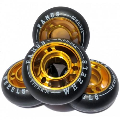 FAMUS Wheel Fast 60/88A Gold /ROLLER inline