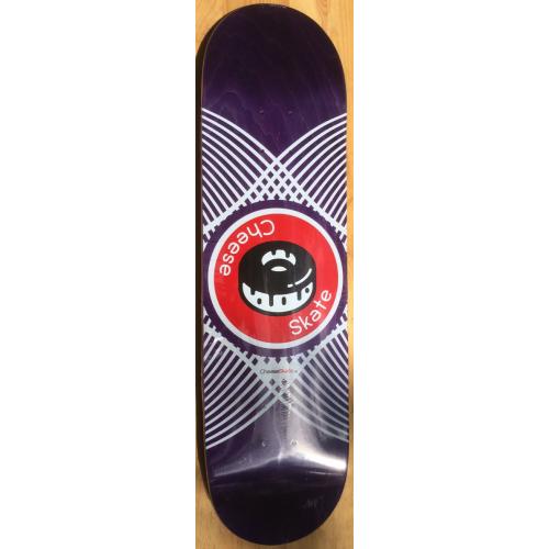 Board ANTIZ  CHEESE SKATE Epoxy Glue 8.5 x 31.75 Deep Violet Medium Concave