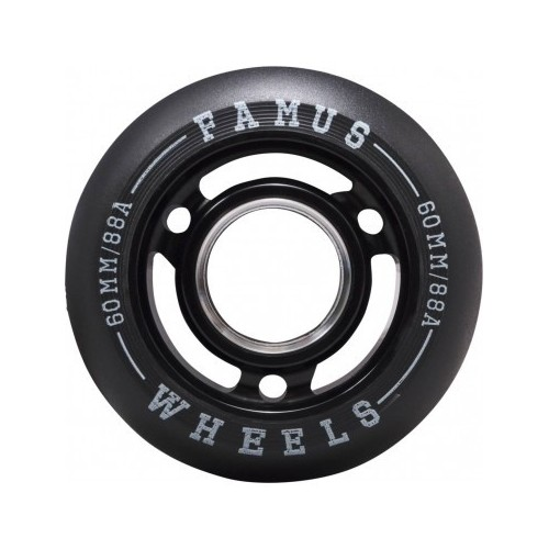 FAMUS Wheels Fast AVELLA 60/88A (Noir) /ROLLER inline