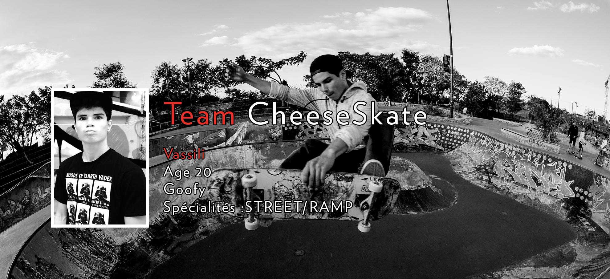 Team CheesSkate - Vassili